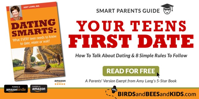 Dating Smarts for Parents: Your Kids First Date & 8 Simple Rules